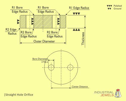 Double Hole Orifice technical details
