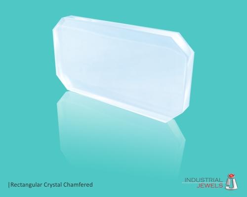 Rectangular Crystal Chamfered