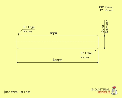 Rod With Flat Ends technical details