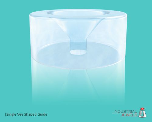 Single Vee Shaped Guide